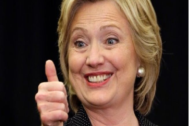 Hillary Clinton, Presumptive nominee of the Democratic Party for President of the United States in the 2016 election