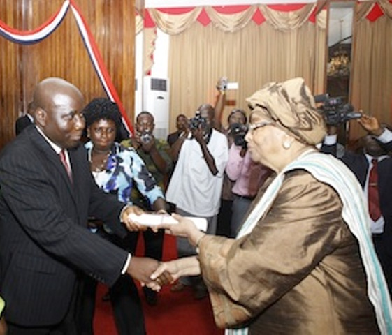 Image result for Sirleaf's party accuses her of interference in Presidential election