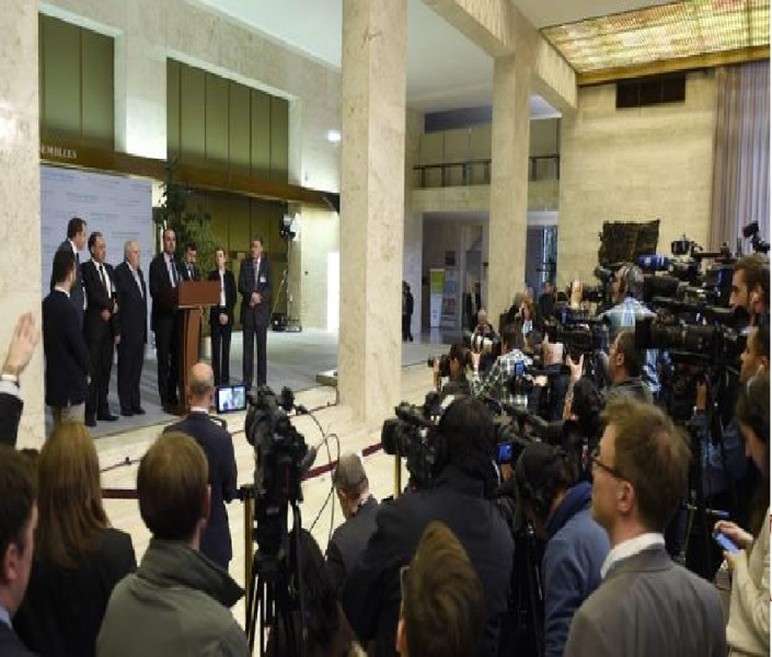 Few signs of progress at first full day of Syria peace talks in Geneva -