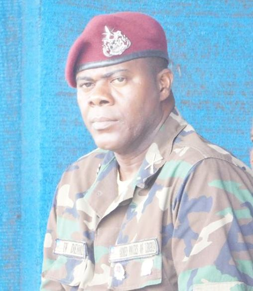 The late Deputy Chief of Staff of the Armed Forces of Liberia (AFL), Col. Eric Dennis