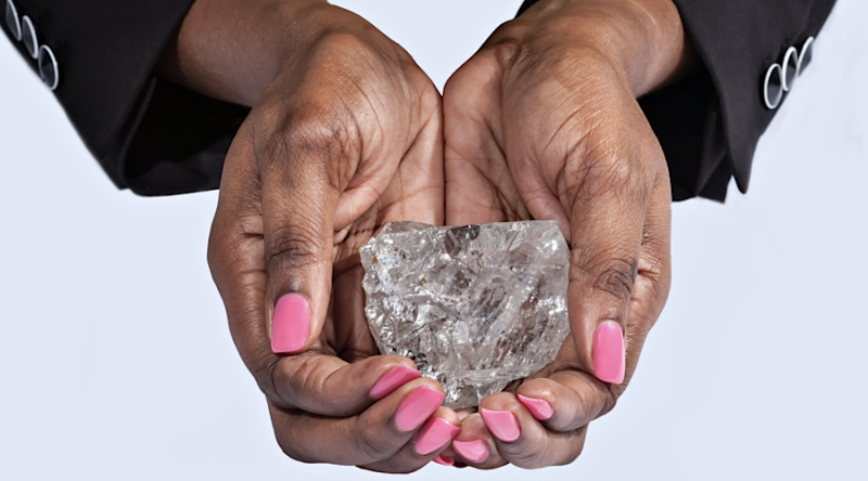 Sierra Leone pastor unearths one of the 20 largest diamonds ever found -
