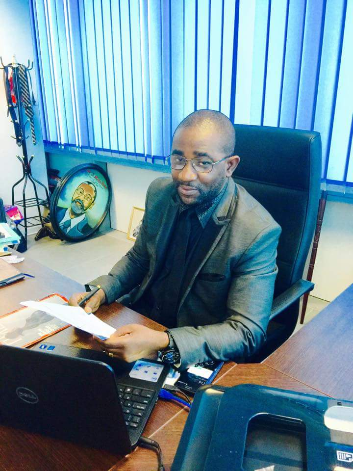 Mr. Hagba Dorbor, Director of Finance of the Central Bank of Liberia