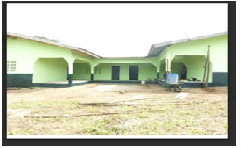 OUR NEW SCHOOL FULLY DEMOLISHED ALLEGEDLY BY THE GOVERNMENT