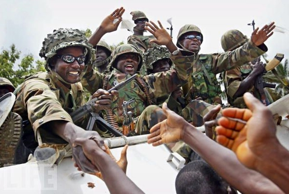 Flash Back: Nigerian ECOMOG Soldiers in Liberia during country's civil war