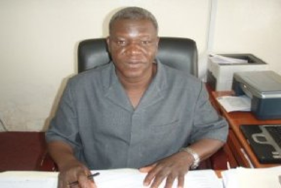 The Director General of the Liberia Institute of Statistics and Geo-Information Services (LISGIS), Dr. Edward Liberty