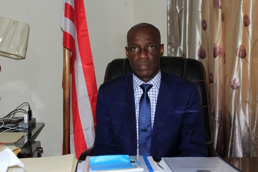 Liberia's Minister of Information, Cultural Affairs and Tourism, Lenn Eugene Nagbe