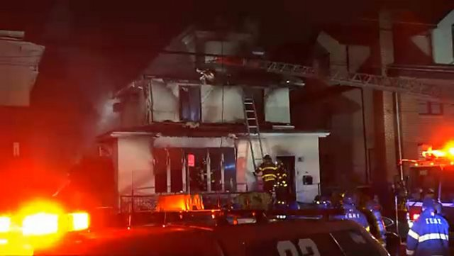 Mother and three kids killed in Brooklyn house fire