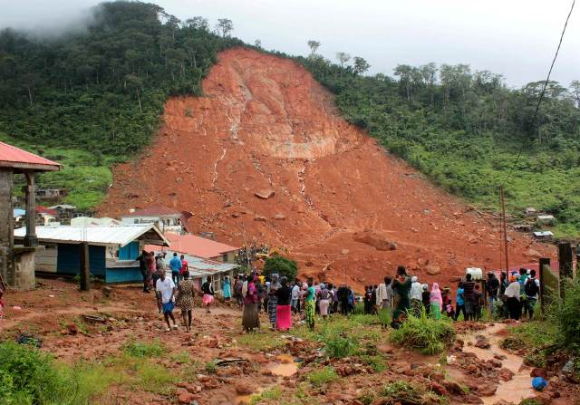 Sierra Leone Mudslide: 300 Dead, Red Cross Believe 600 Missing -