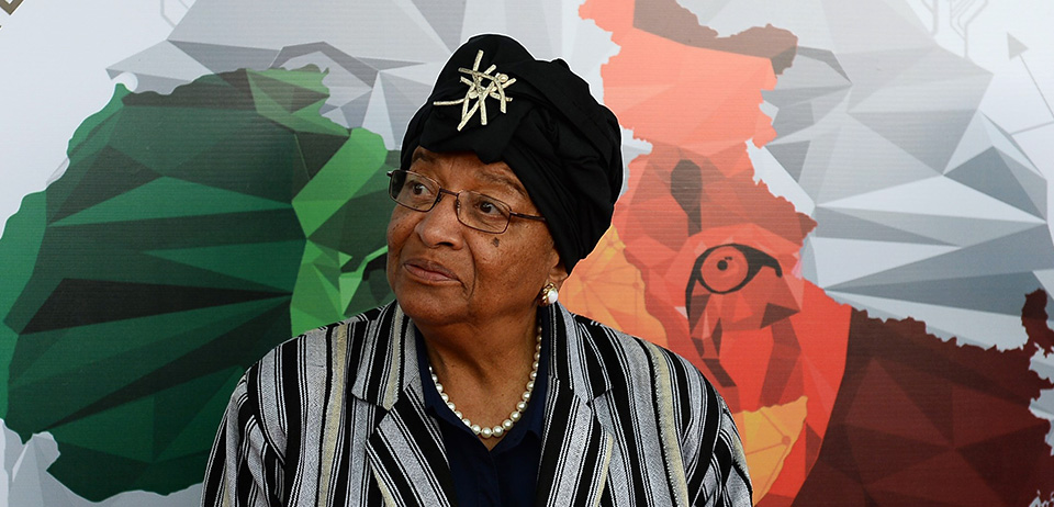 Liberian President Ellen Johnson Sirleaf  (Credit Getty Image)