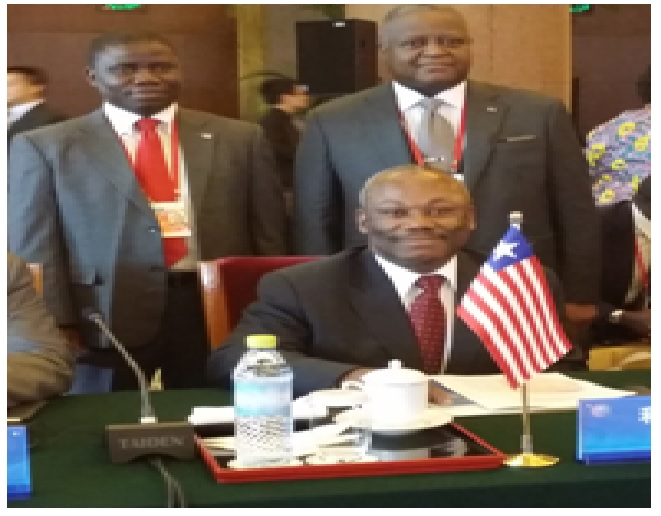 Minister Grigsby and other members of Liberian delegation
