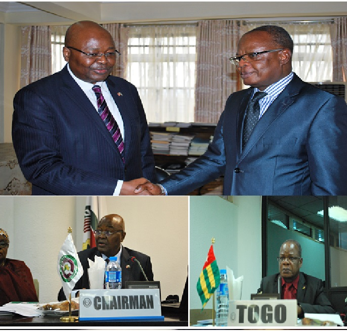 Amb. Conteh Turns Over ECOWAS PRC's Chairmanship To Togolese Ambassador -