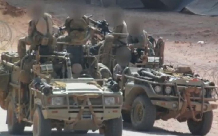 British special forces pictured on the ground in Syria for the first time BBC News