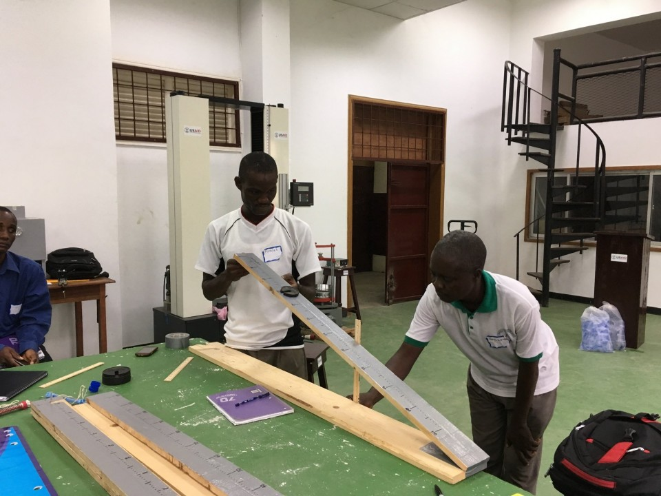 Secondary teachers in Liberia learned new instructional strategies and hands-on activities for their students during a two-week workshop this summer run by Michigan educators. (Courtesy photo)