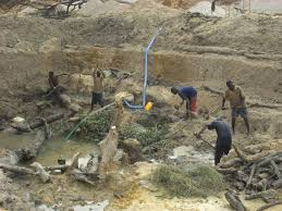 FLASH BACK: Some Miners in western Liberia