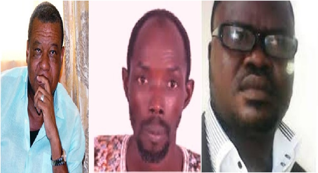 SERIOUS ALLEGATION: ALP Political Leader, Benoni Urey, PUL President, K. Abdullai Kamara and PUL Vice President Jallah Grayfield at the center of 'Corruption' allegation