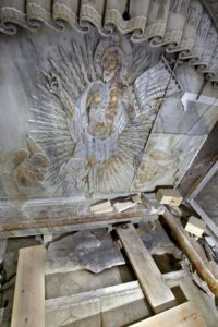 The tomb was opened for the first time in 500 years