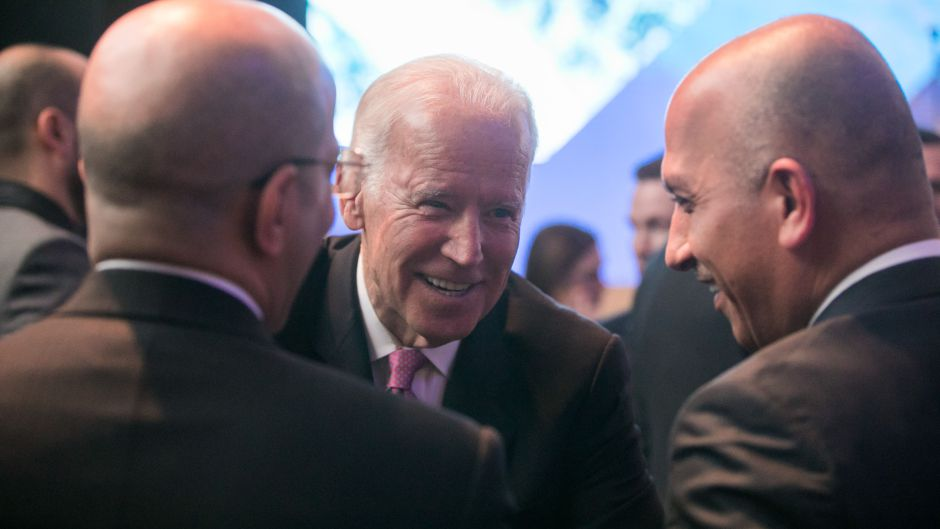 Joe Biden used his final speech as vice president to get harsh on Russia -