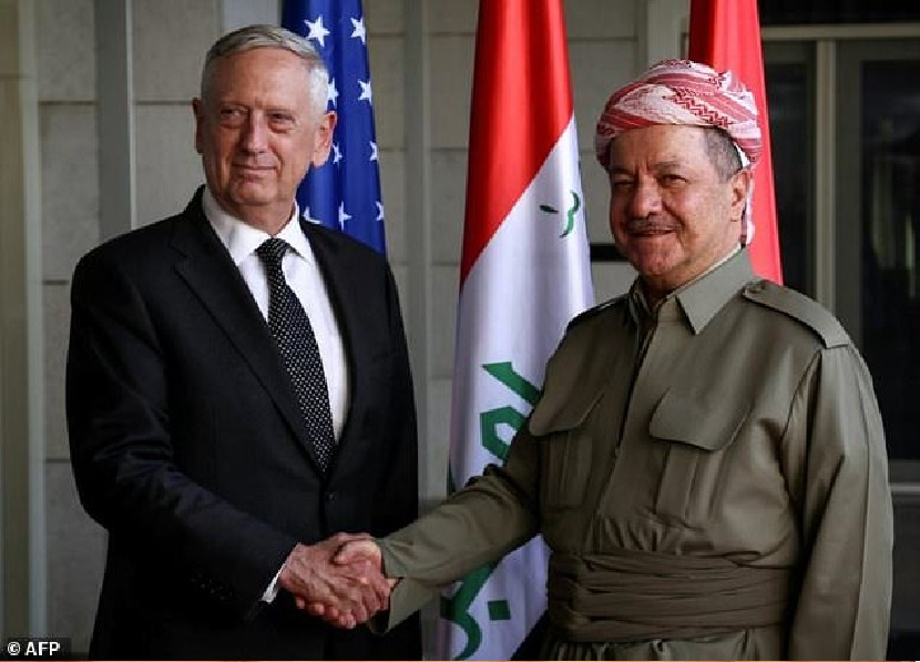 US Defence Chief In Turkey For Talks On Syria, Kurds -