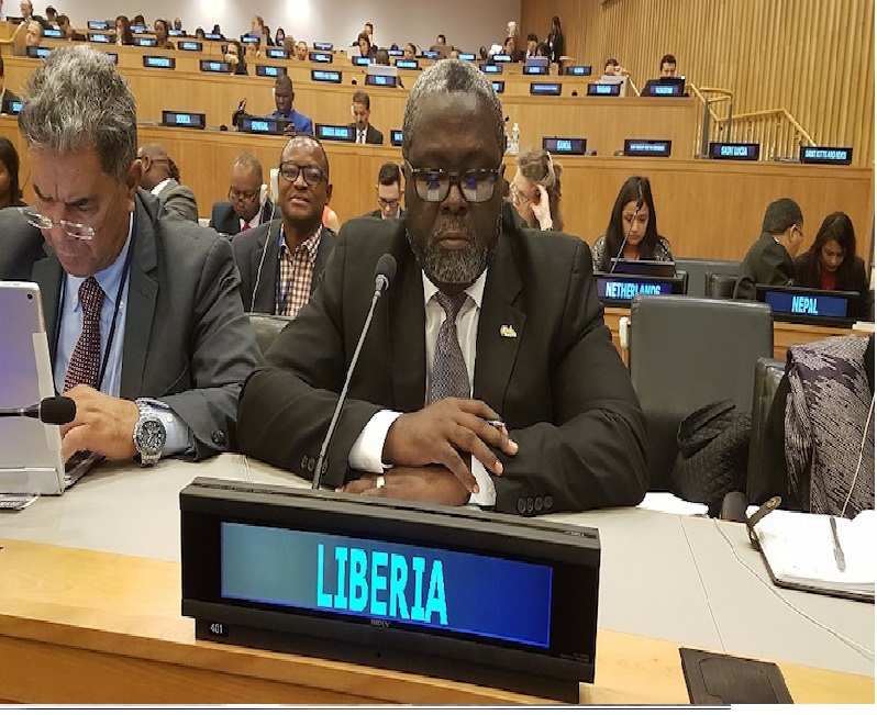 Liberia Makes History, Chair UN General Assembly's Fourth Committee After 57 Years' -