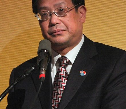 The Chief Executive Officer (CEO) of China Union Investment in Bong Mines, Lee Zhi Xiang,