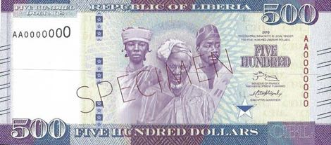 The new five hundred dollars bank note being introduced by the CBL which has created serious split between the House of Representative on Banking and Currency and the CBL