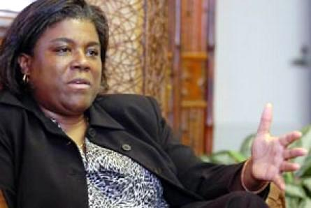 The US Assistant Secretary of State for African Affairs, Linda Thomas-Greenfield
