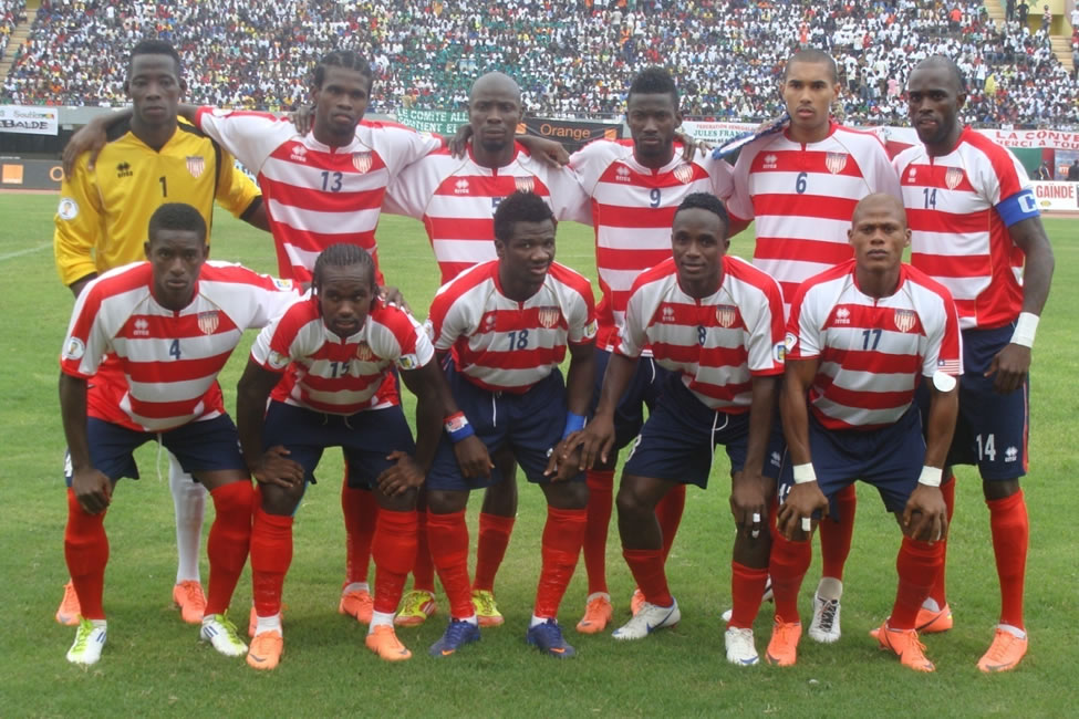 FLASHBACK: Line Up Of The Liberian National Team