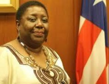 Liberia's Minister of Foreign Affairs, Marjon Kamara