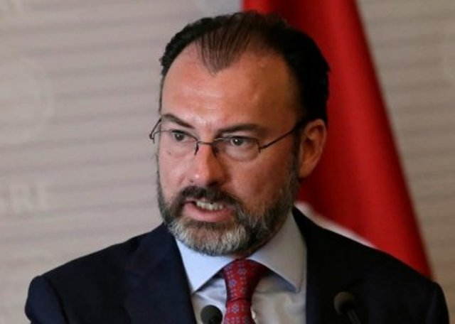 Romero Mexican Foreign Minister Luis Videgaray at the foreign ministry building in Mexico City. Thomson Reuters