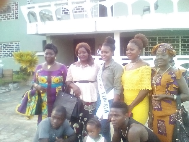 Miss Liberia, Wokie Dolo Departs Liberia For Miss World 2017 Beauty Pageant -