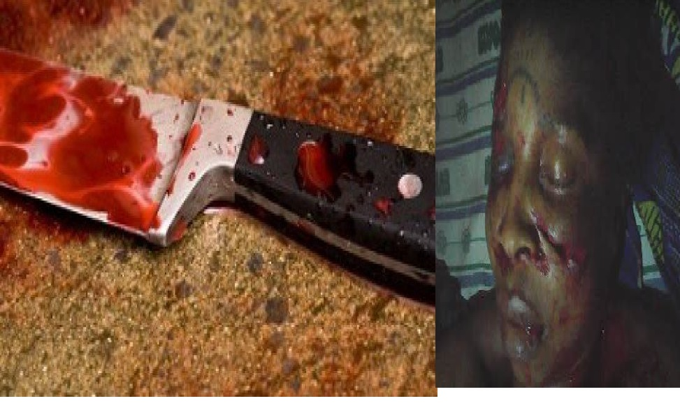 The Weapon allegedly used on the victim (right)