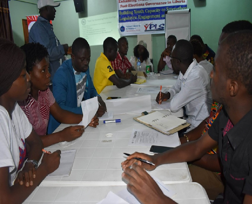 NAYMOTE Ends Youth Capacity Building Training Workshop -