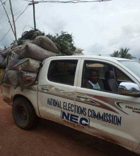 As Liberia Battles Out On How Its Crucial Electoral Problem Could Be resolved, NEC Vehicles Are Been Misused -