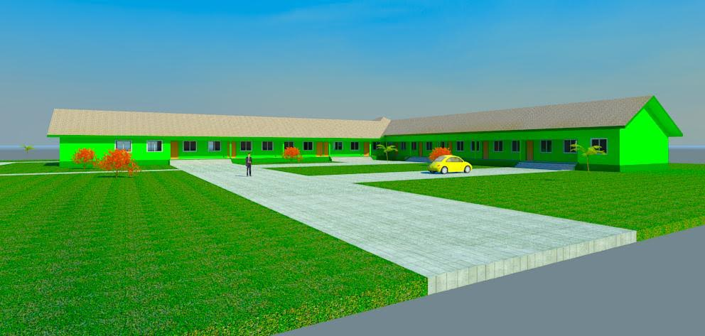 Overview of The expected campus of the New Dimension of Hope (NDH)
