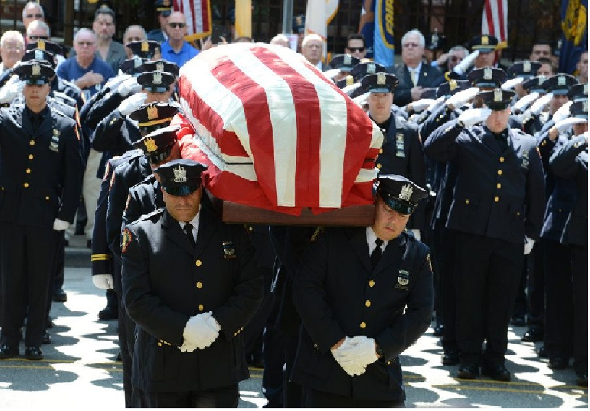 Mother of slain cop sues Walgreens, Security Company and guard -