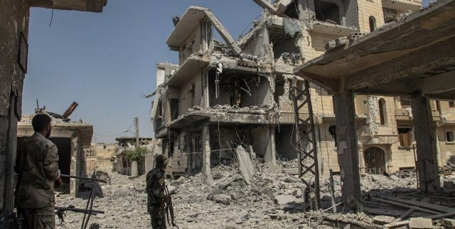 Latest in Raqqa: 100 civilians rescued -