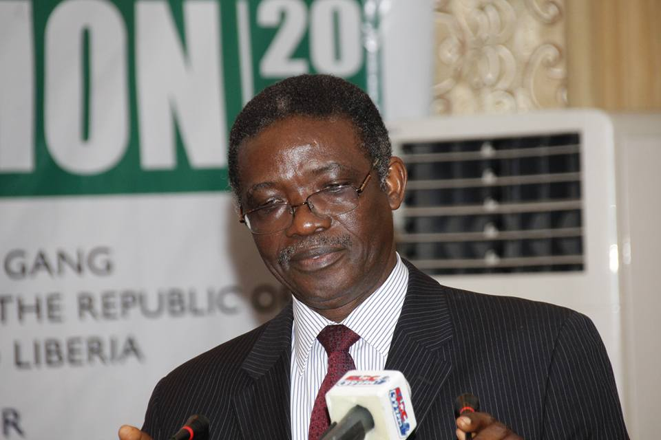 Cameroon Ambassador  Ben Yallah Ghan also addressing the new leadership of the PUL