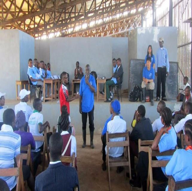 FLASHBACK: One of the many Science Bowl Competitions sponsored by I-Help Liberia Project in Liberia