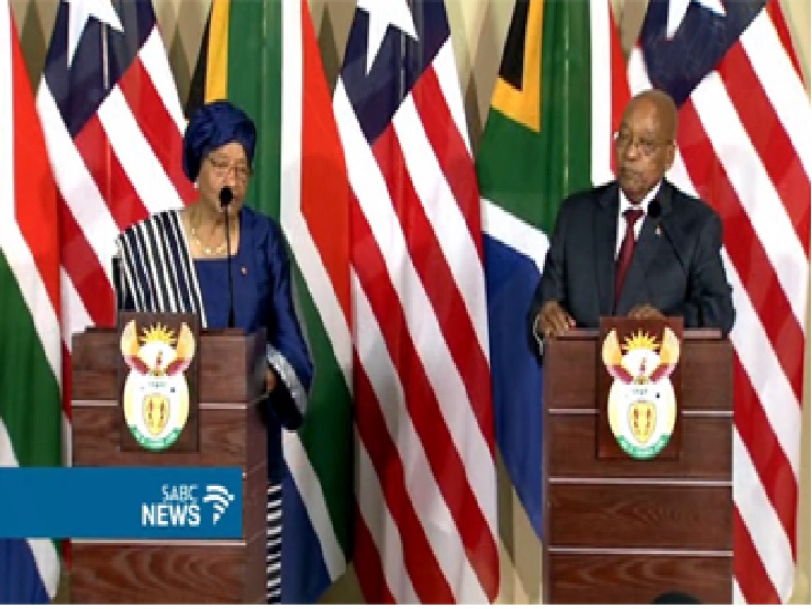SA committed to working with Liberia -