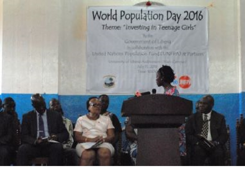 Satta Sheriff served as guest speaker at this year's World Population Day Celebration