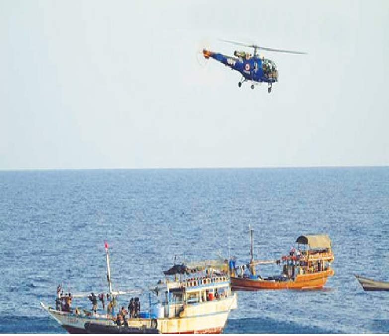 Indian navy foils piracy attempt on Liberian vessel in Gulf of Aden