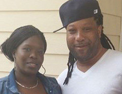 Sineka Davis, 38, of Jersey City was found unresponsive with a gunshot wound to her chest last night at 6 p.m. in her Manning Avenue home. She was later pronounced dead at the scene. Authorities are seeking the whereabouts of her husband, Steve L. Franklin Jr. who has been charged with murder. Oct. 28, 2016. Joe Shine | For The Jersey Journal