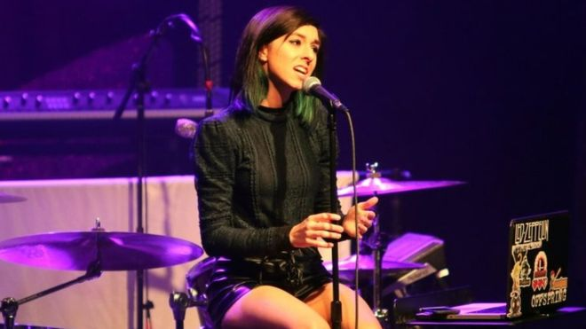 Christina Grimmie has been taken to a local hospital in Orlando