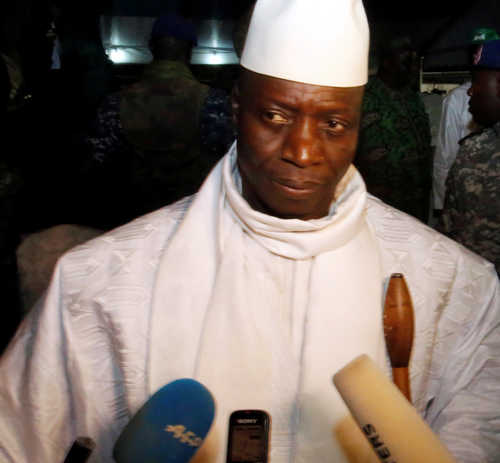 President Yahya Jammeh/Photo Credit: Reuters