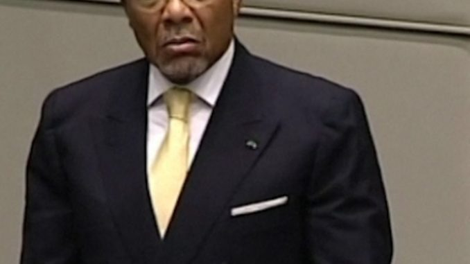 Ex-Liberian President, Charles G. Taylor