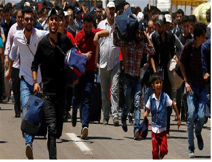 110,000 Syrians return to Syria from Turkey to celebrate Eid -