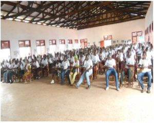 Participants at World Toilet Day 2016 Celebration held in Gbarnga, Bong county-Liberia