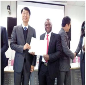 Liberian Journalist, Fredrick Gaye Receiving Certification from Renmin University of China (RUC)