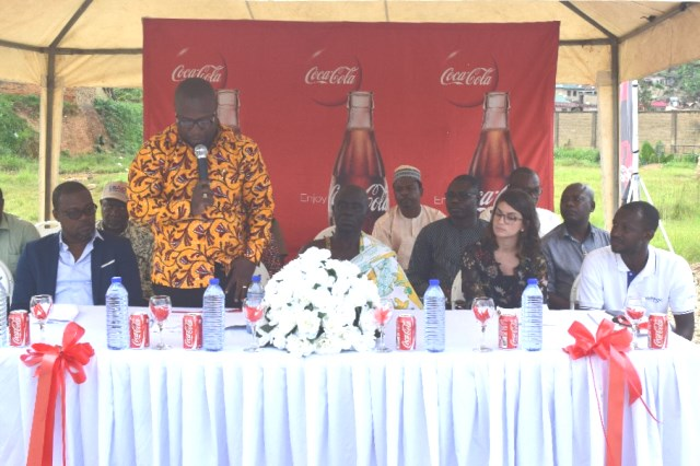 Coca-Cola and USAID Partnership to Provide Safe Drinking Water in Western Region, Ghana -