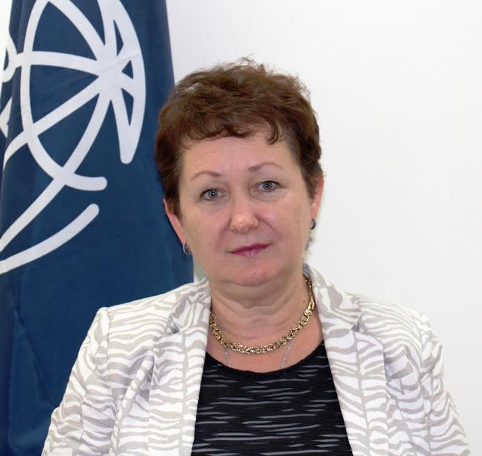 World Bank Liberia Country Manager, Larisa Leshchenko